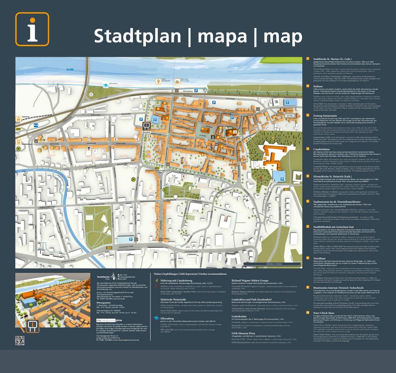 3-D-Stadtplan - Elektrische Heimat